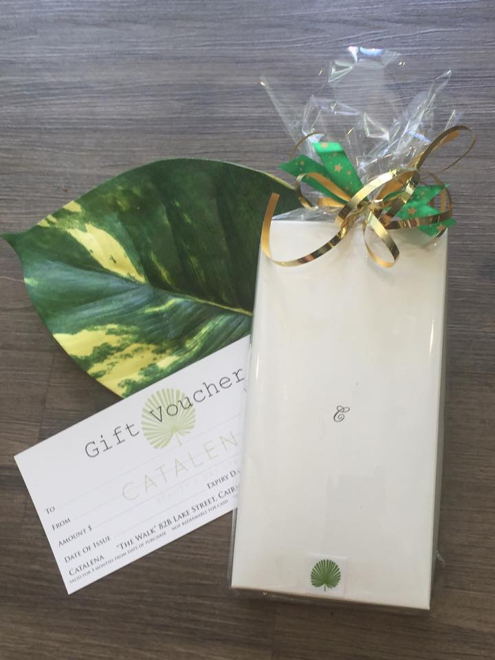 Beautifully presented Spa Vouchers